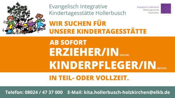 Hollerbusch-Stellenanzeige_Kindertagesstätte